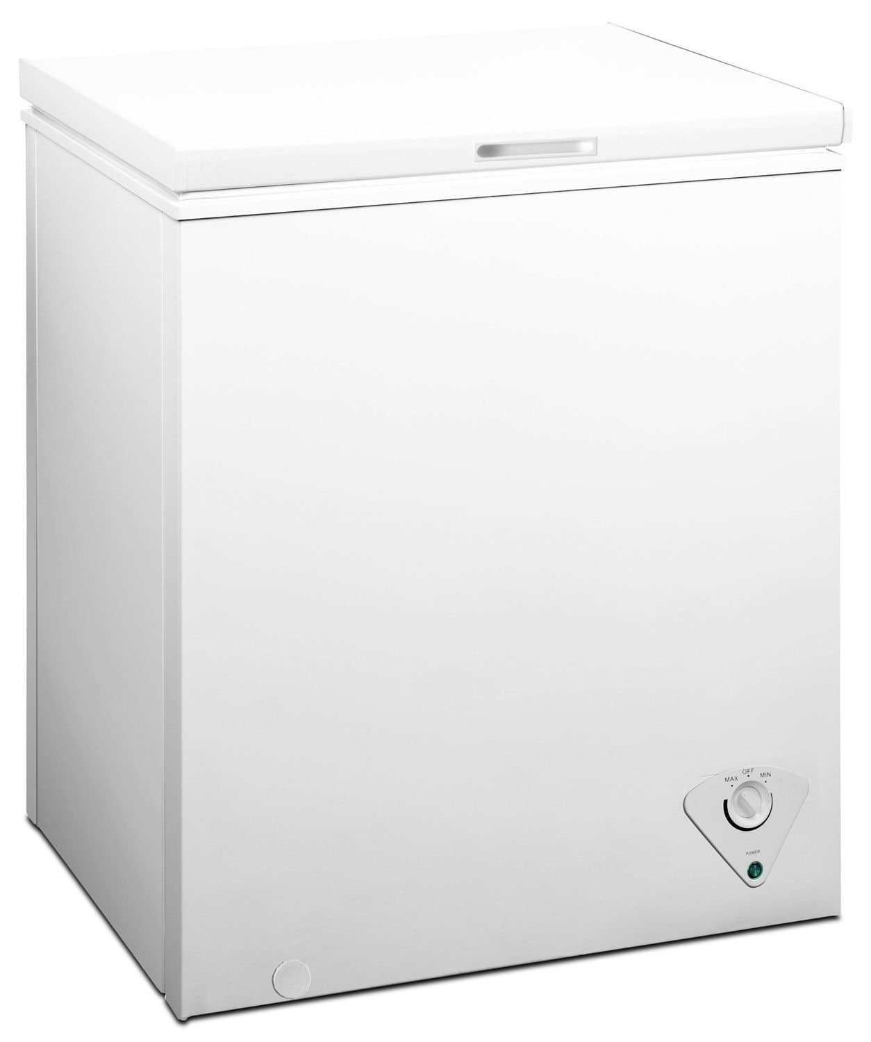 Refrigerators and Freezers - Midea 5.0 Cu. Ft. Chest Freezer - White