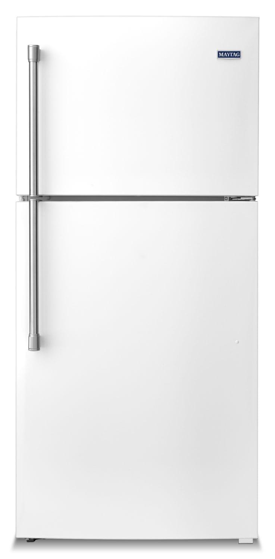 [Maytag White Top-Freezer Refrigerator (19.1 Cu. Ft.) - MRT519SZDH]
