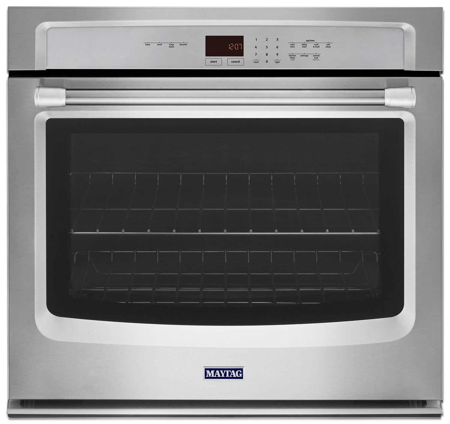 Cooking Products - Maytag Stainless Steel Wall Oven (5.0 Cu. Ft.) - MEW7530DS