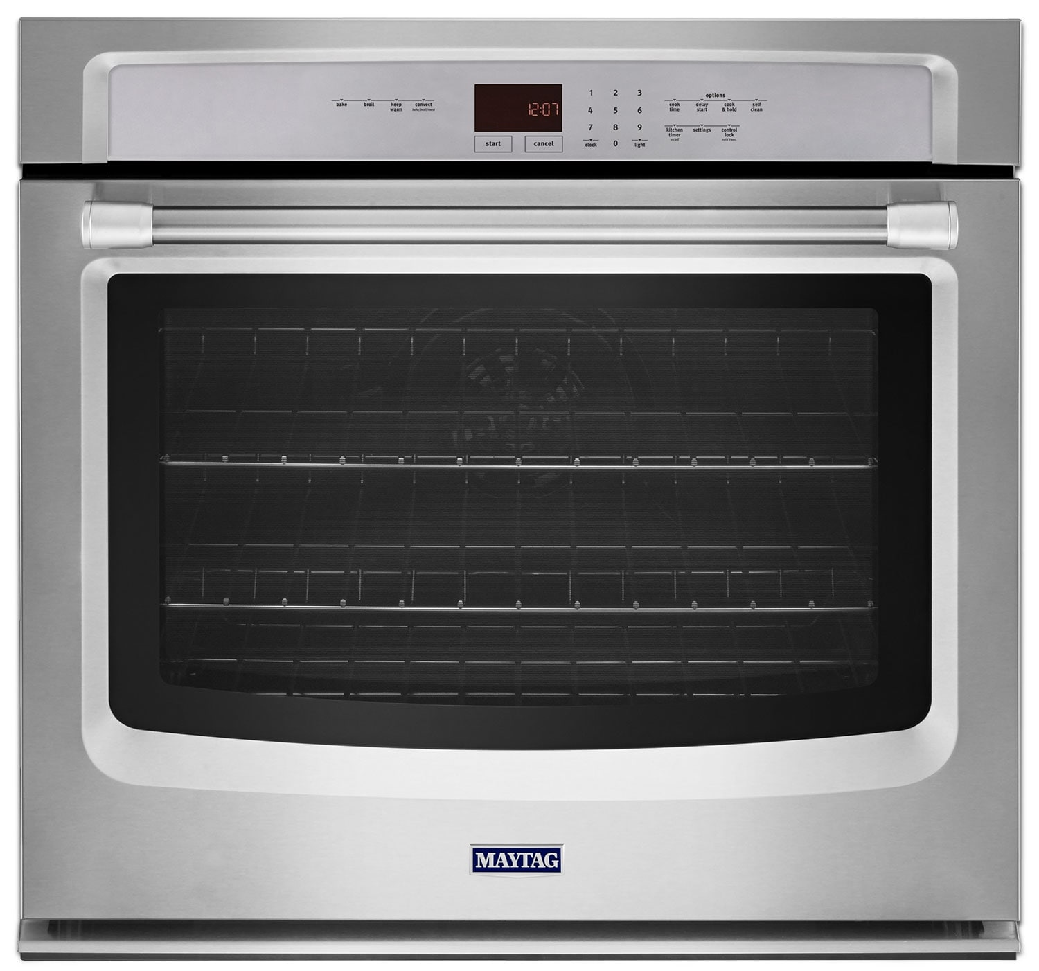Cooking Products - Maytag Stainless Steel Convection Wall Oven (4.3 Cu. Ft.) - MEW9527DS