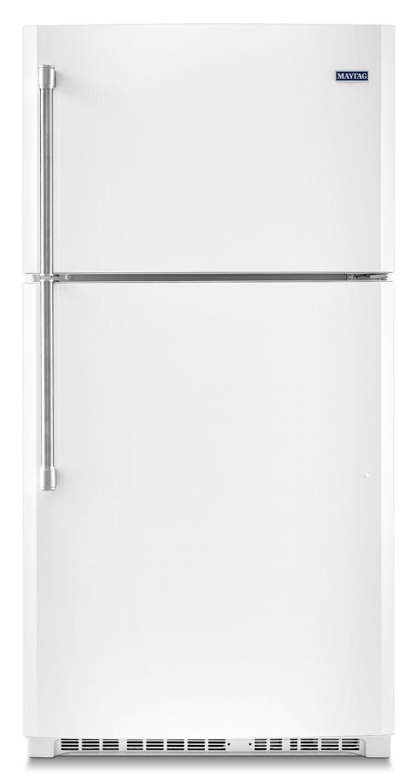 [Maytag White Top-Freezer Refrigerator (21.2 Cu. Ft.) - MRT711BZDH]