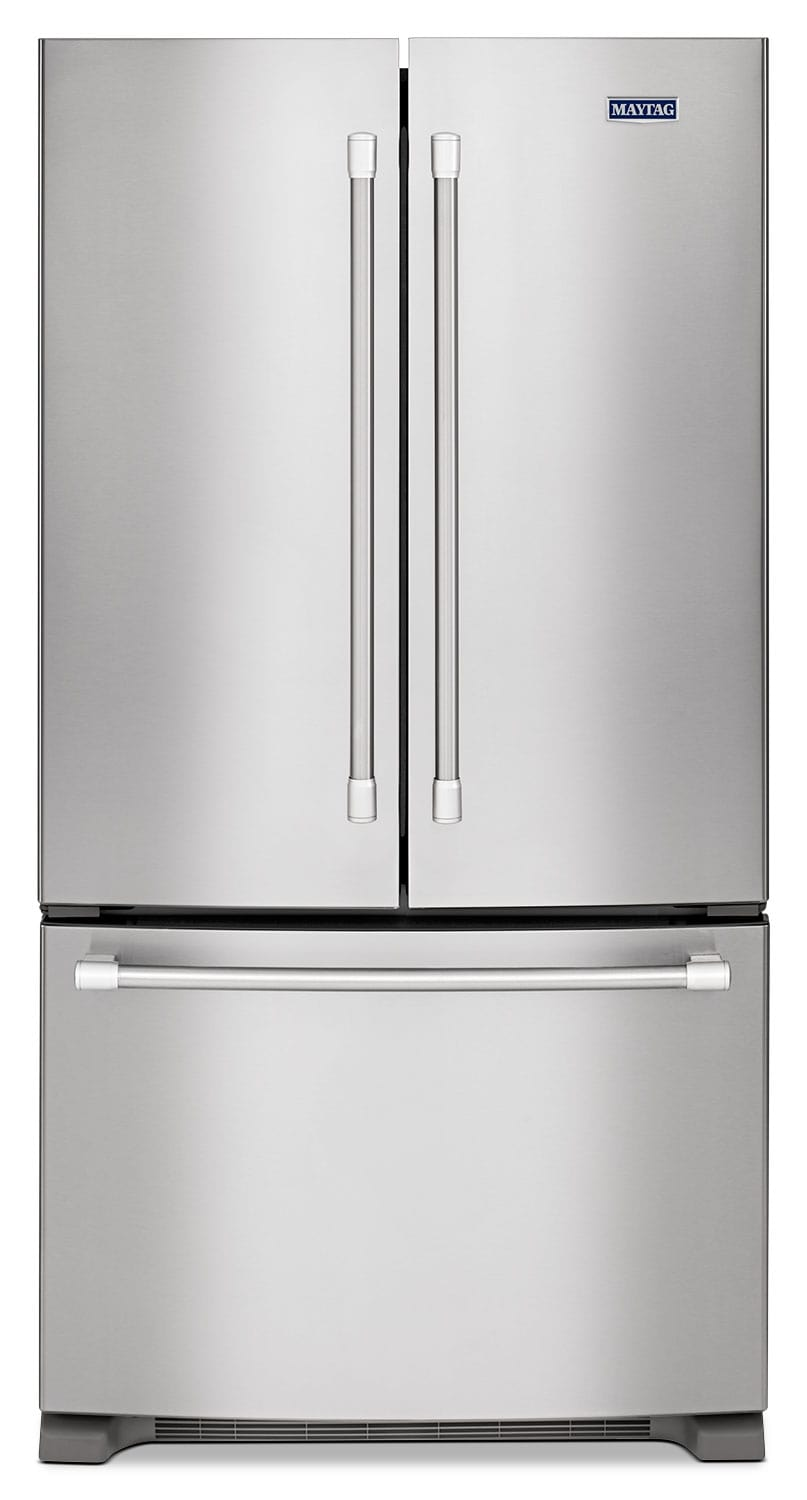 [Maytag Stainless Steel French Door Refrigerator (20 Cu. Ft.) - MFC2062DEM]