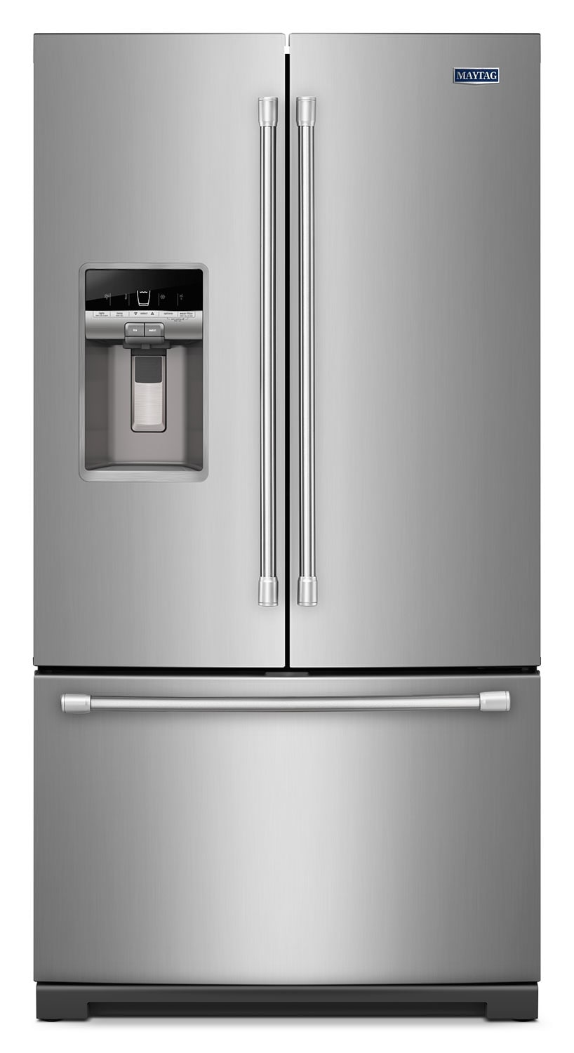 [Maytag Stainless Steel French Door Refrigerator (26.8 Cu. Ft.) - MFT2776DEM]
