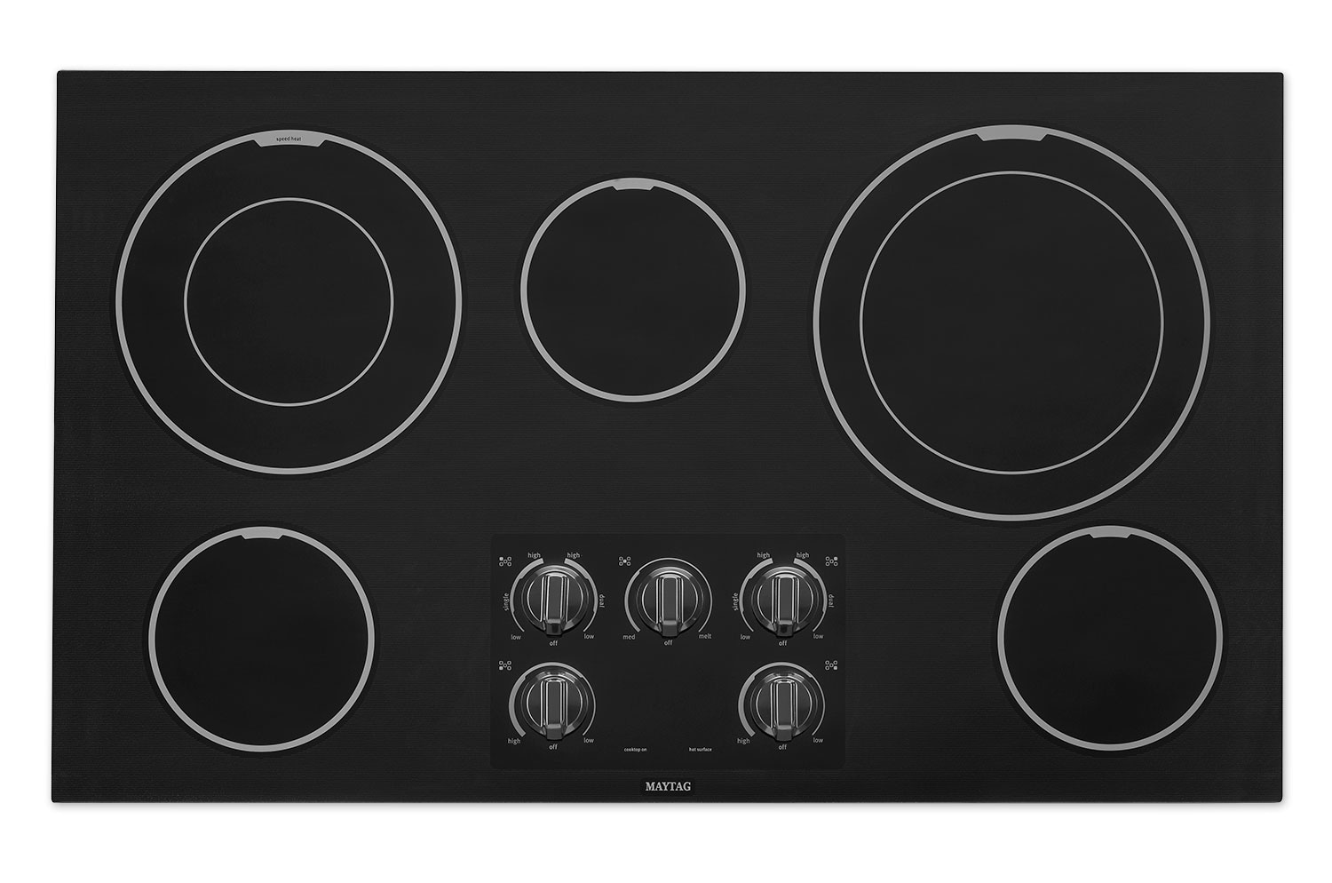 Cooking Products - Maytag Electric Cooktop MEC9536BB