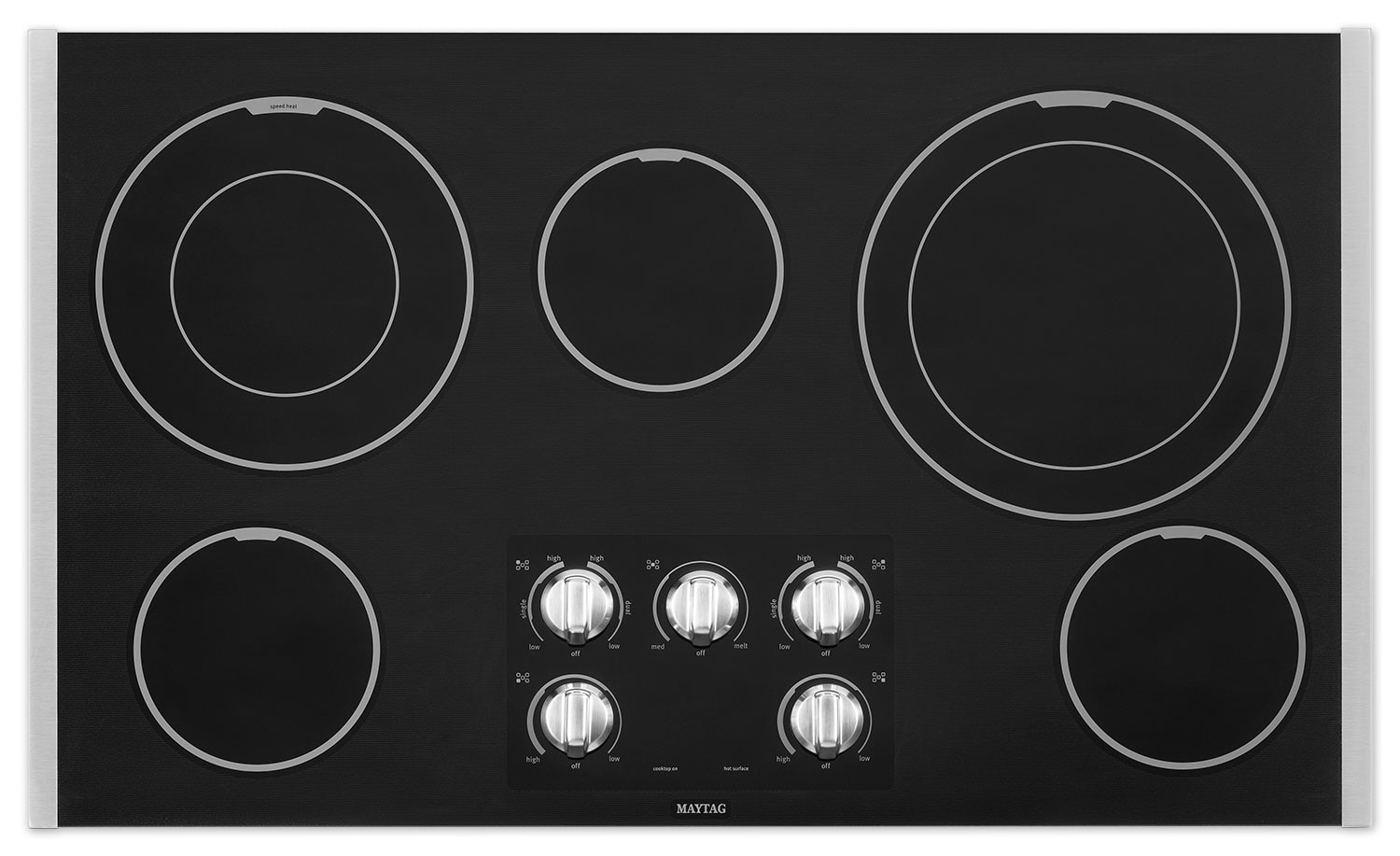 "Cooking Products - Maytag 36"" Electric Cooktop – MEC9536BS"