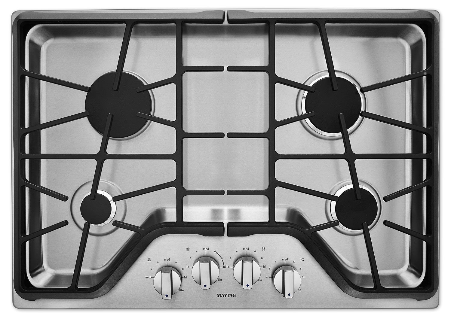 "Cooking Products - Maytag 30"" Gas Cooktop – MGC9530DS"