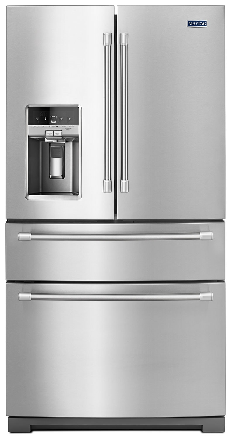 [Maytag Stainless Steel French Door Refrigerator (26.1 Cu. Ft.) - MFX2876DRM]