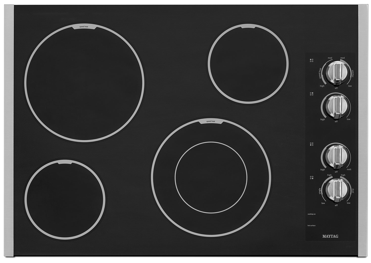 "Cooking Products - Maytag 30"" Electric Cooktop – MEC7430BS"