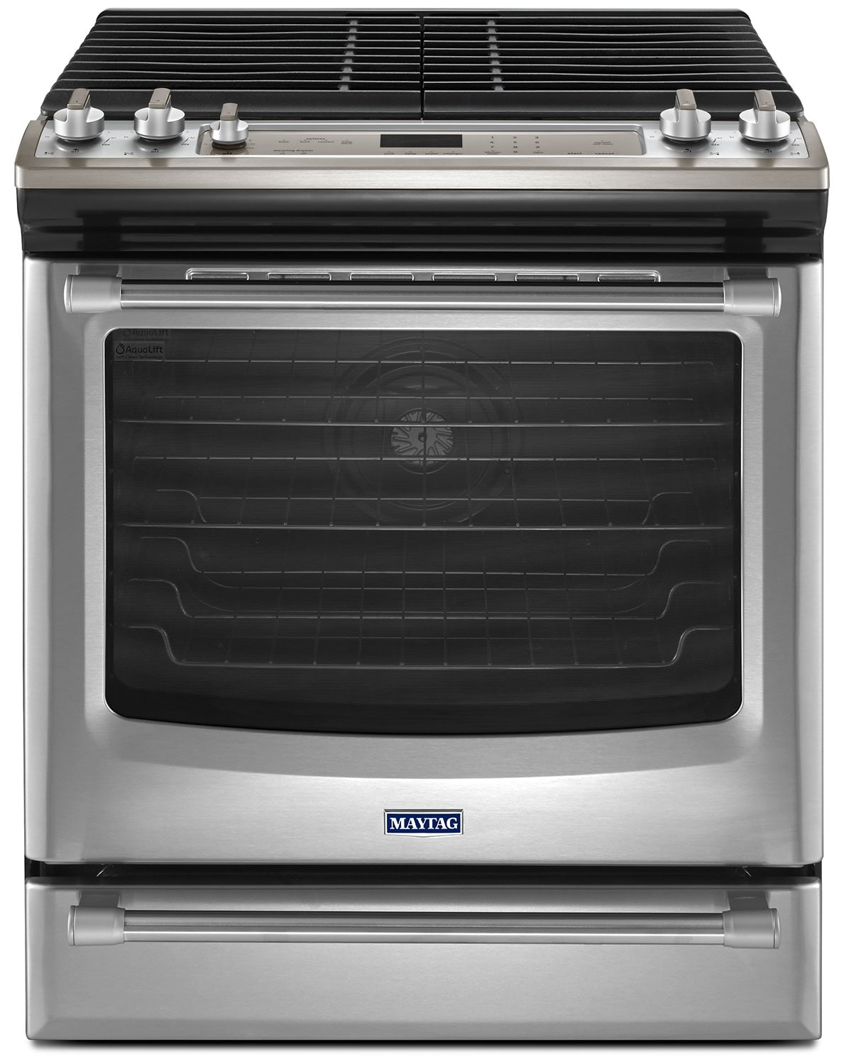[Maytag Stainless Steel Slide-In Gas Range (5.8 Cu. Ft.) - MGS8880DS]