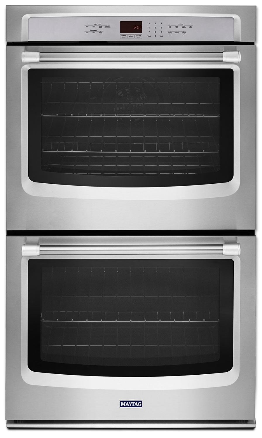 Cooking Products - Maytag Stainless Steel Double Convection Wall Oven (10 Cu. Ft.) - MEW9630DS