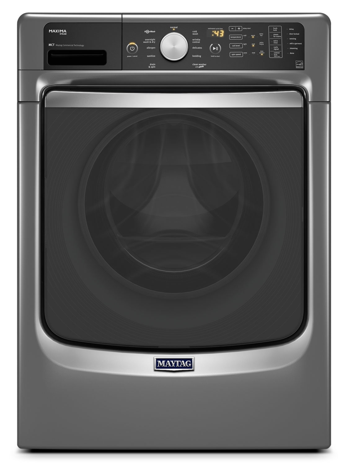 Washers and Dryers - Maytag Washer (5.2 Cu. Ft. IEC) MHW7100DC