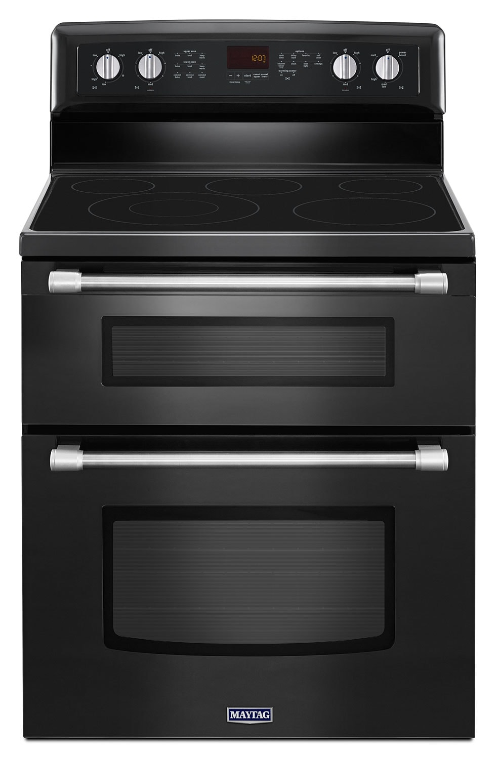 Cooking Products - Maytag 6.7 Cu. Ft. Double Oven Electric Range – YMET8720DE