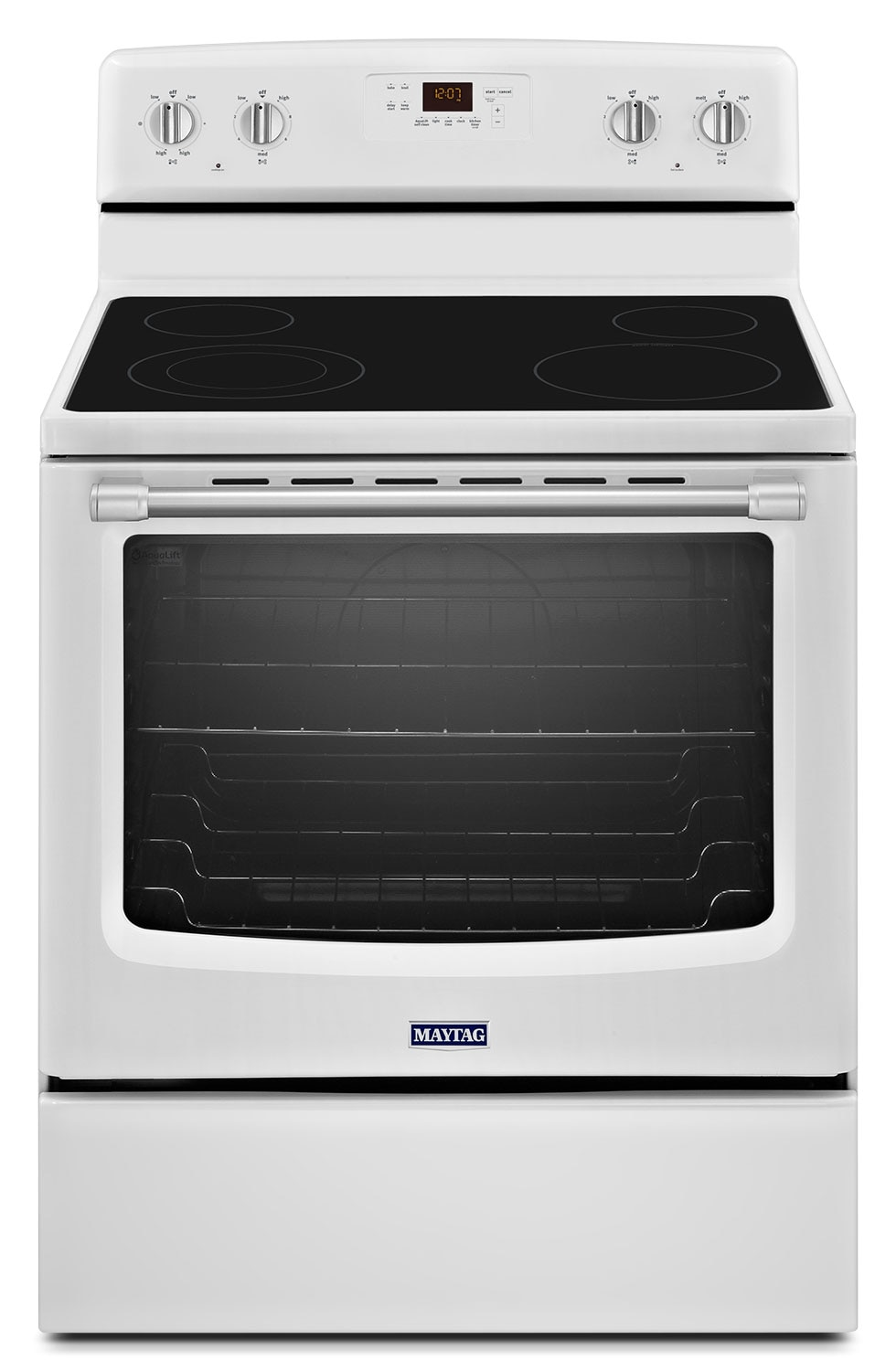 [Maytag White Freestanding Electric Range (6.2 Cu. Ft.) - YMER8600DH]