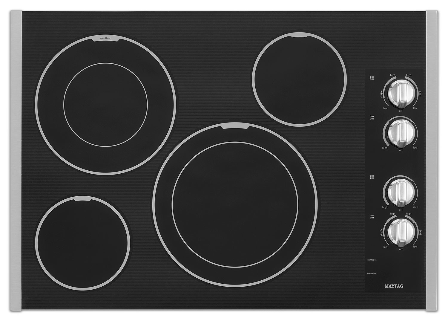 "Cooking Products - Maytag 30"" Electric Cooktop – MEC9530BS"