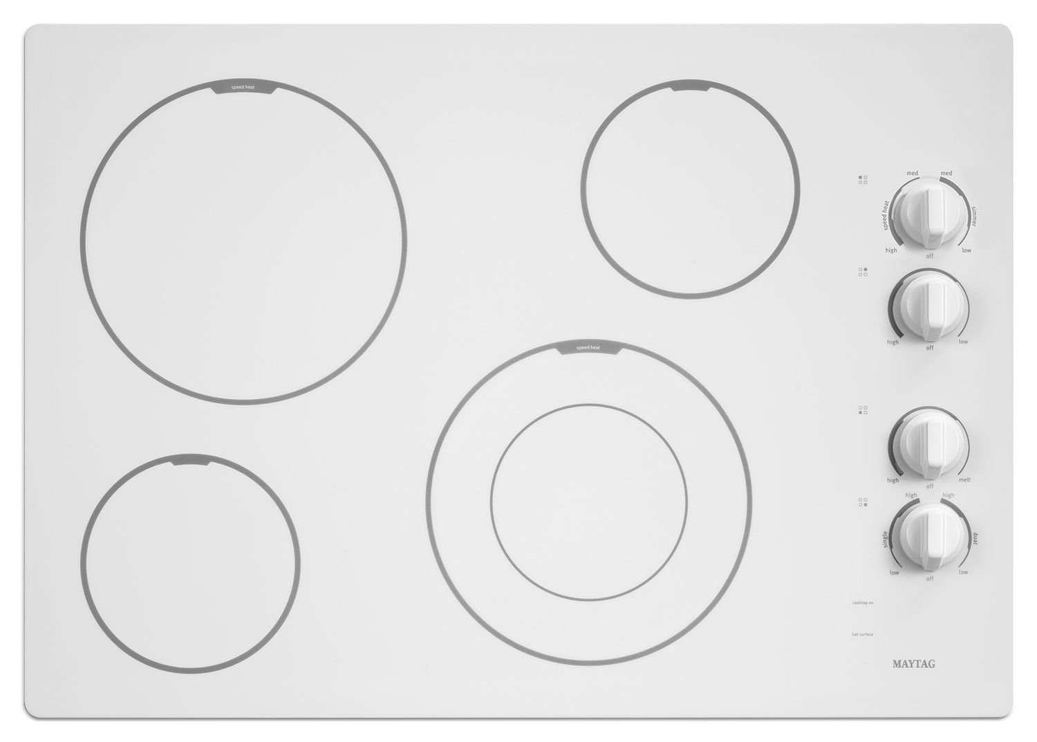 Cooking Products - Maytag Electric Cooktop MEC7430BW