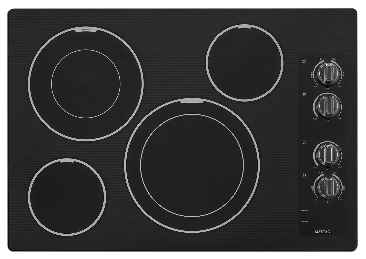 "Cooking Products - Maytag 30"" Electric Cooktop – MEC9530BB"