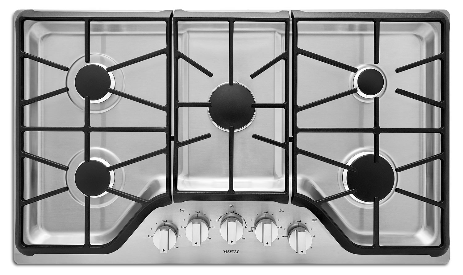 "Cooking Products - Maytag 36"" Gas Cooktop – MGC9536DS"