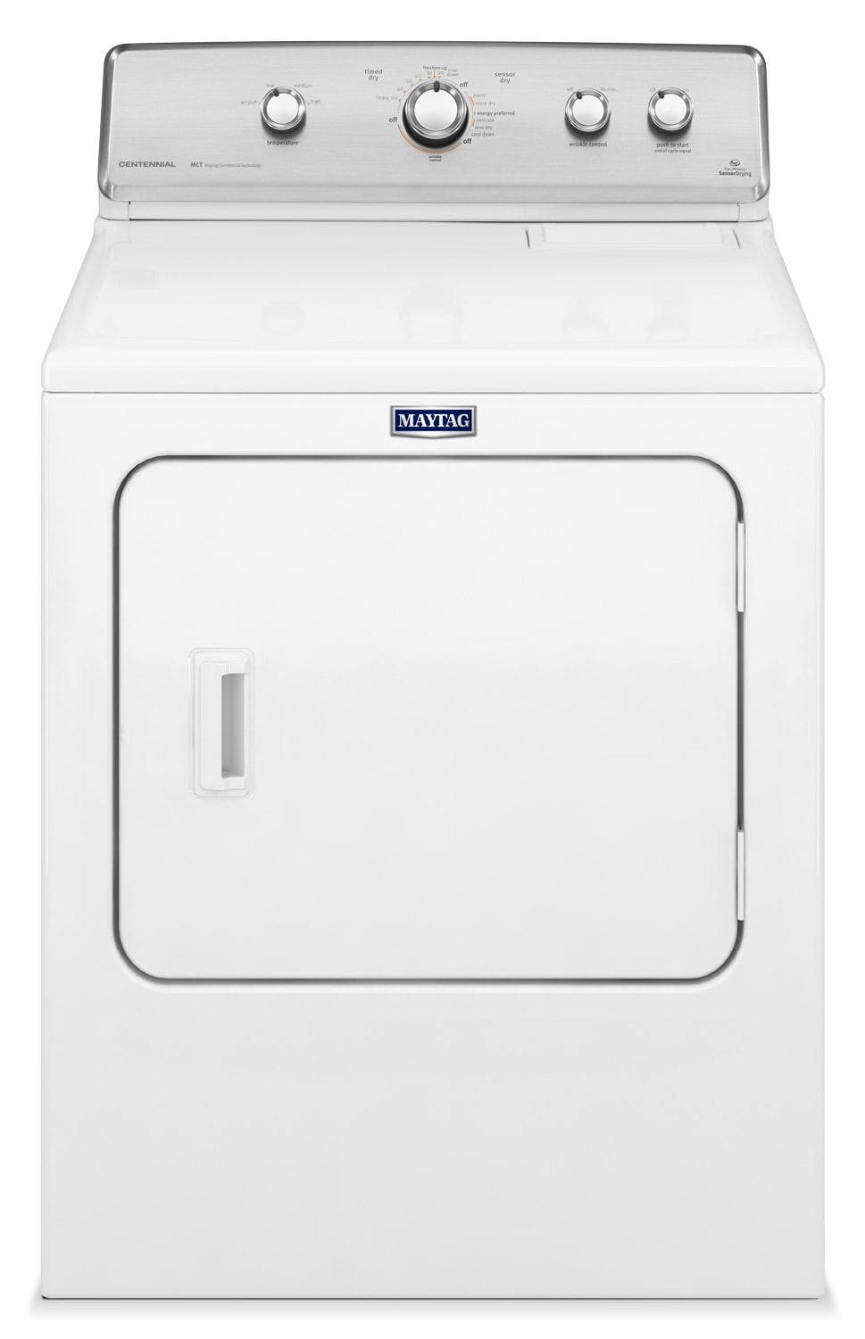 Washers and Dryers - Maytag Centennial® 7.0 Cu. Ft. Gas Dryer- MGDC555DW