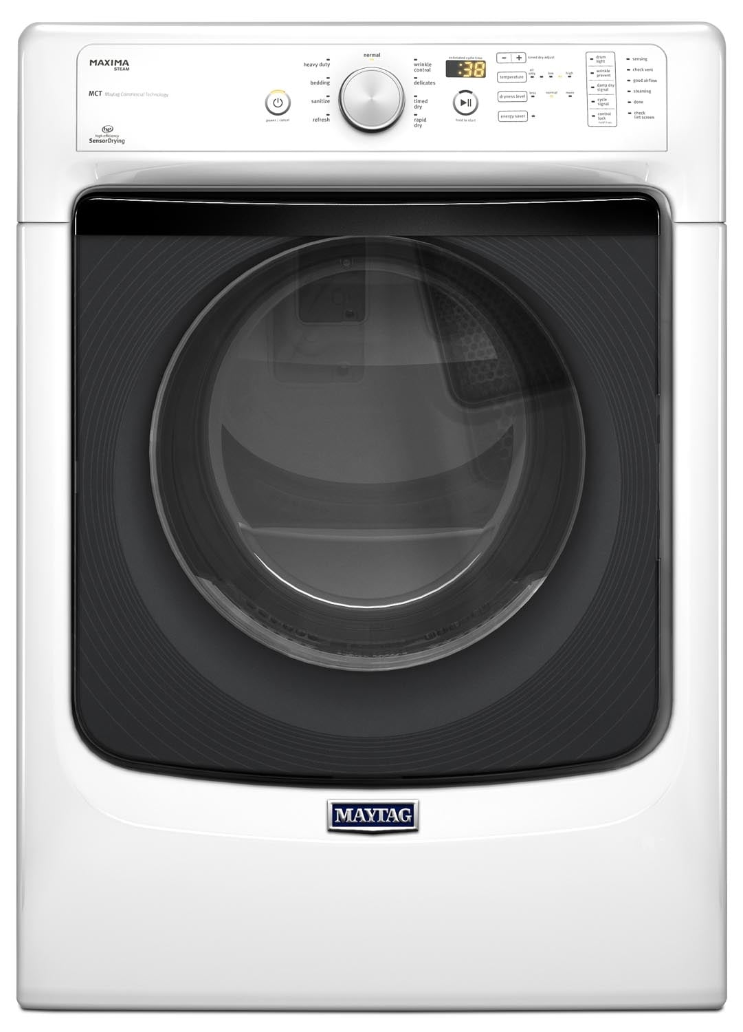Washers and Dryers - Maytag Maxima® Gas Dryer (7.3 Cu. Ft.) MGD5100DW