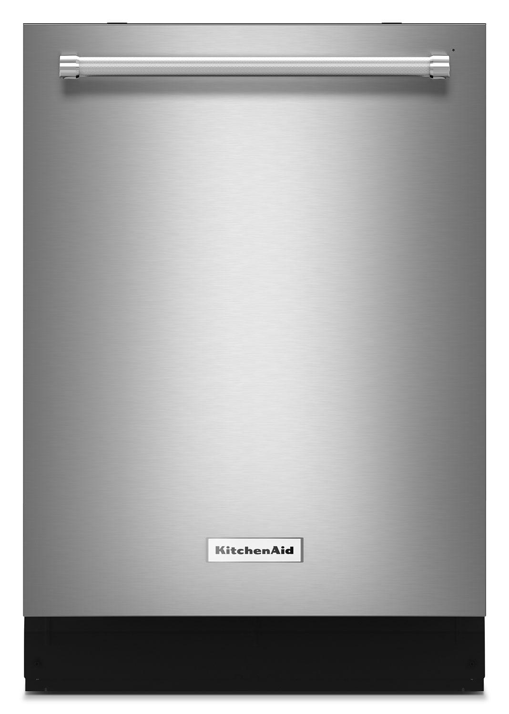 "Clean-Up - KitchenAid Stainless Steel 24"" Dishwasher - KDTE204ESS"