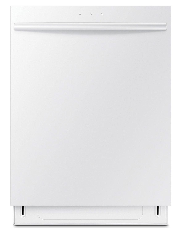 """Clean-Up - Samsung White 24"""" Dishwasher - DW80F600UTW"""