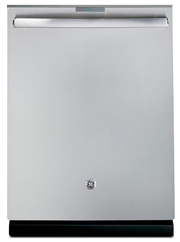 "Clean-Up - GE Stainless Steel 24"" Dishwasher - PDT750SSFSS"