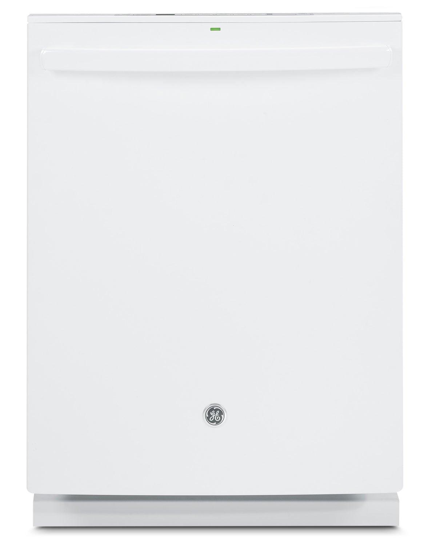 "Clean-Up - GE White 24"" Dishwasher - GDT580SGFWW"