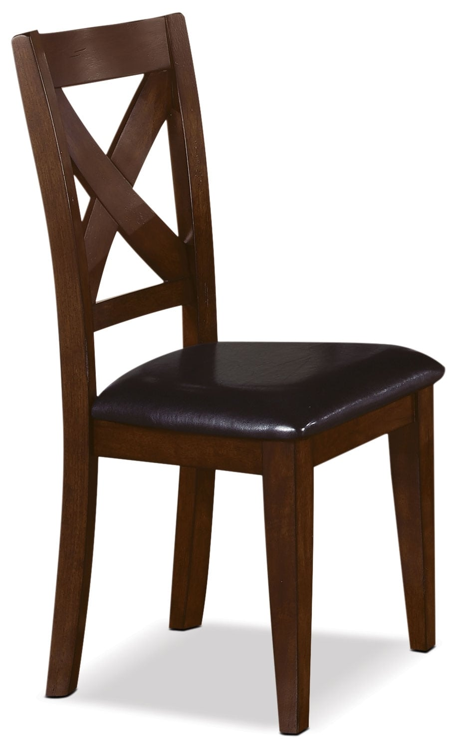 Adara Cross Back Side Chair The Brick