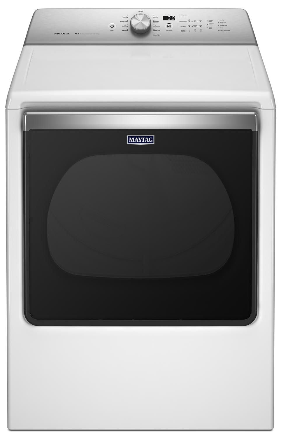 Washers and Dryers - Maytag 8.8 Cu. Ft. Electric Dryer – YMEDB835DW