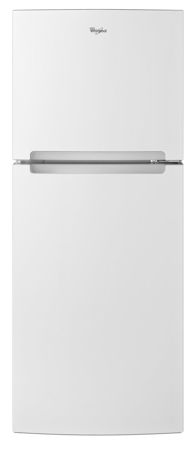 Refrigerators and Freezers - Whirlpool White Top-Freezer Refrigerator (10.7 Cu. Ft.) - WRT111SFDW