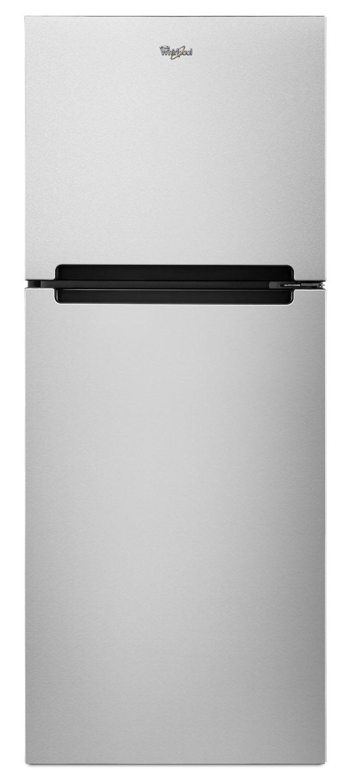 Whirlpool Stainless Steel Top-Freezer Refrigerator (10.7 Cu. Ft.) - WRT111SFDM