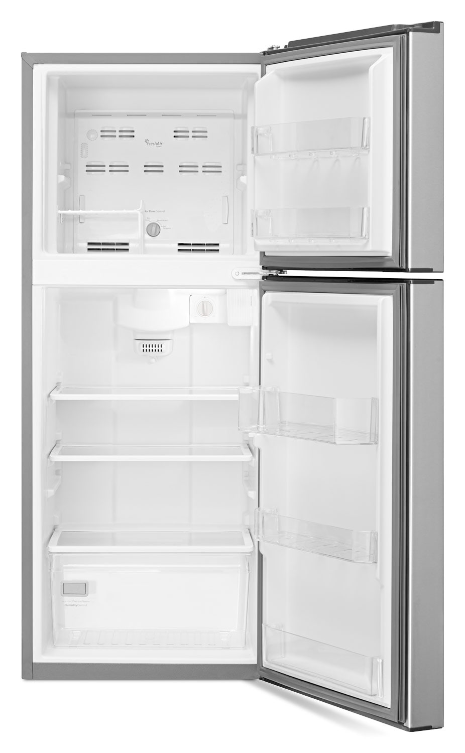 10 Best Images About Over Refrigerator Storage Options On: Whirlpool Stainless Steel Top-Freezer Refrigerator (10.7