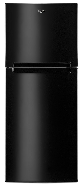 Whirlpool Black Top-Freezer Refrigerator (10.7 Cu. Ft.) - WRT111SFDB