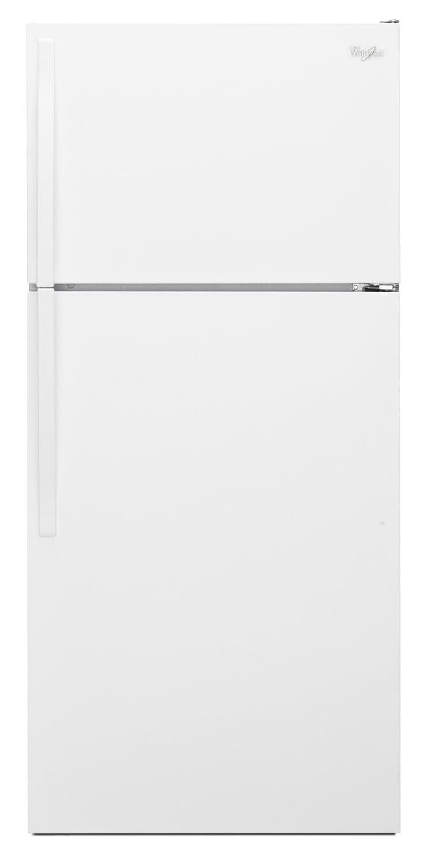 Refrigerators and Freezers - Whirlpool White Top-Freezer Refrigerator (14.3 Cu. Ft.) - WRT134TFDW