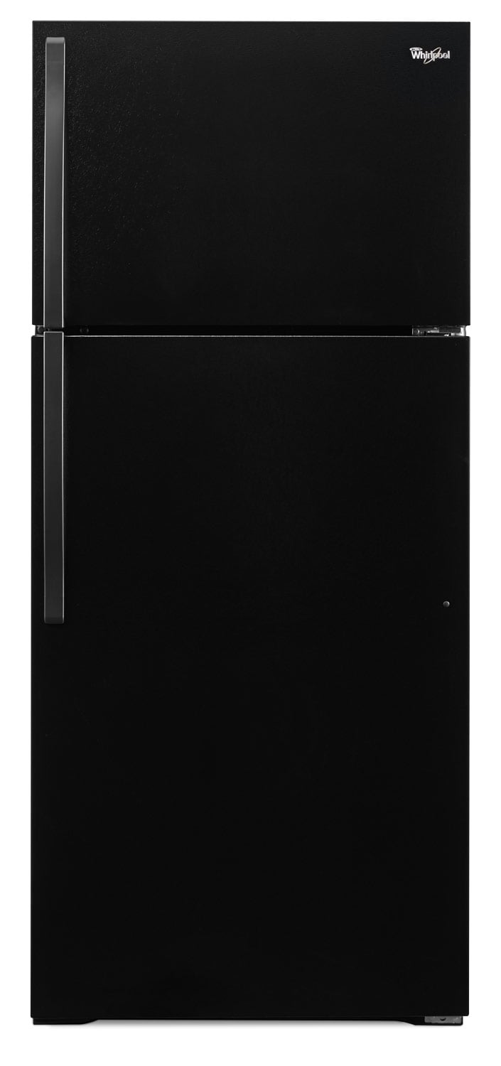 Refrigerators and Freezers - Whirlpool Black Top-Freezer Refrigerator (14.3 Cu. Ft.) - WRT134TFDB