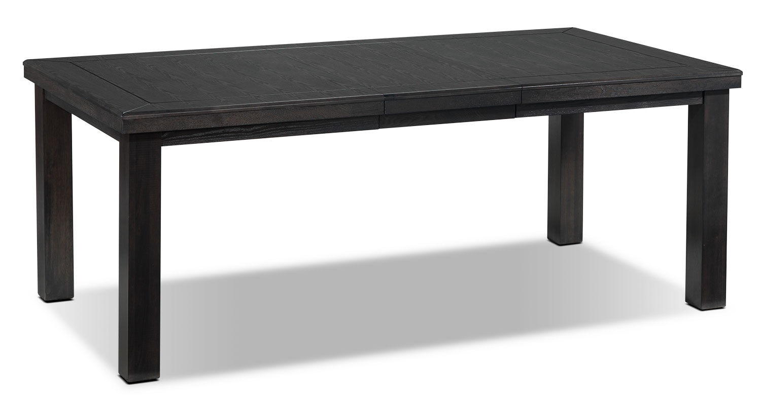 Casual Dining Room Furniture - Marlowe Table - Charcoal