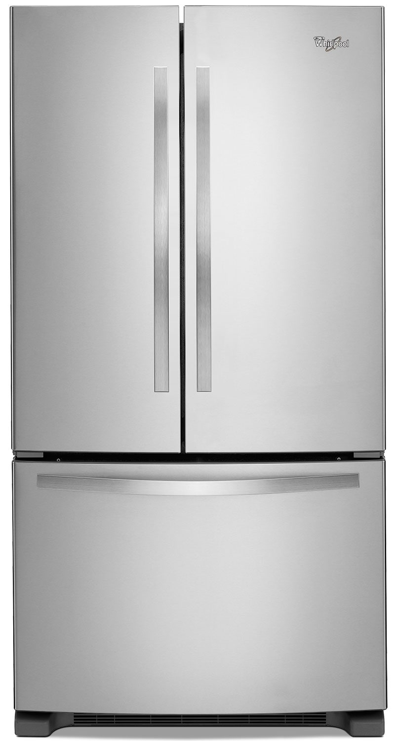 Whirlpool® 22 Cu. Ft. French-Door Refrigerator – Stainless Steel