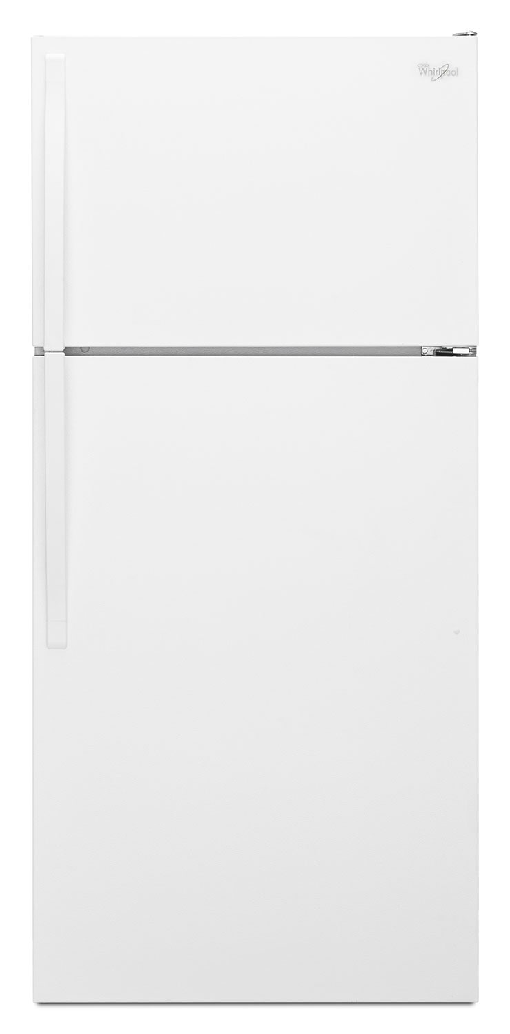 Refrigerators and Freezers - Whirlpool White Top-Freezer Refrigerator (14.3 Cu. Ft.) - WRT314TFDW