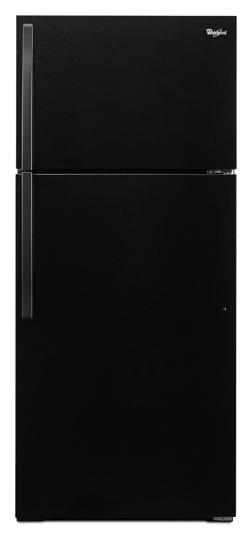 Whirlpool Black Top-Freezer Refrigerator (14.3 Cu. Ft.) - WRT314TFDB