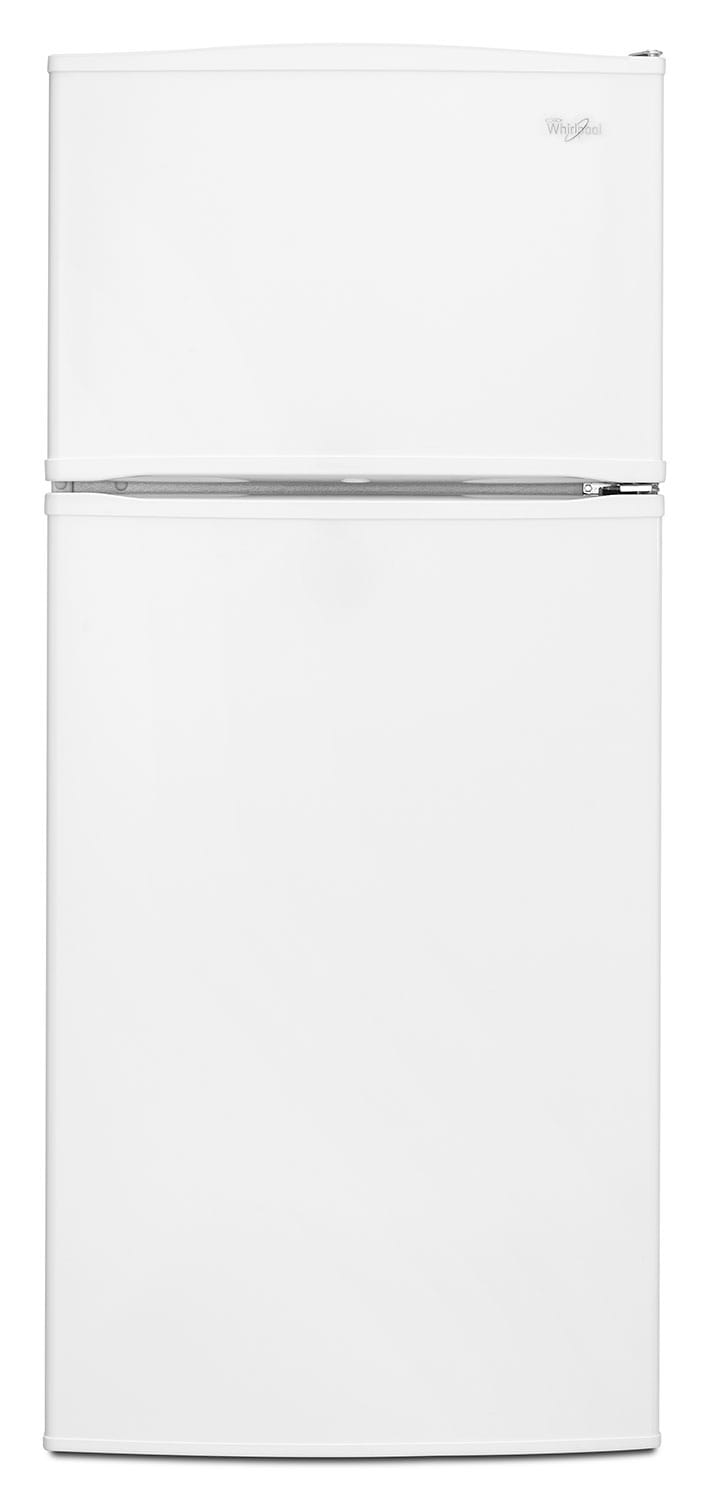 Refrigerators and Freezers - Whirlpool White Top-Freezer Refrigerator (15.9 Cu. Ft.) - WRT316SFDW