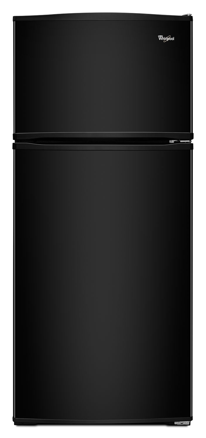 Refrigerators and Freezers - Whirlpool Black Top-Freezer Refrigerator (15.9 Cu. Ft.) - WRT316SFDB