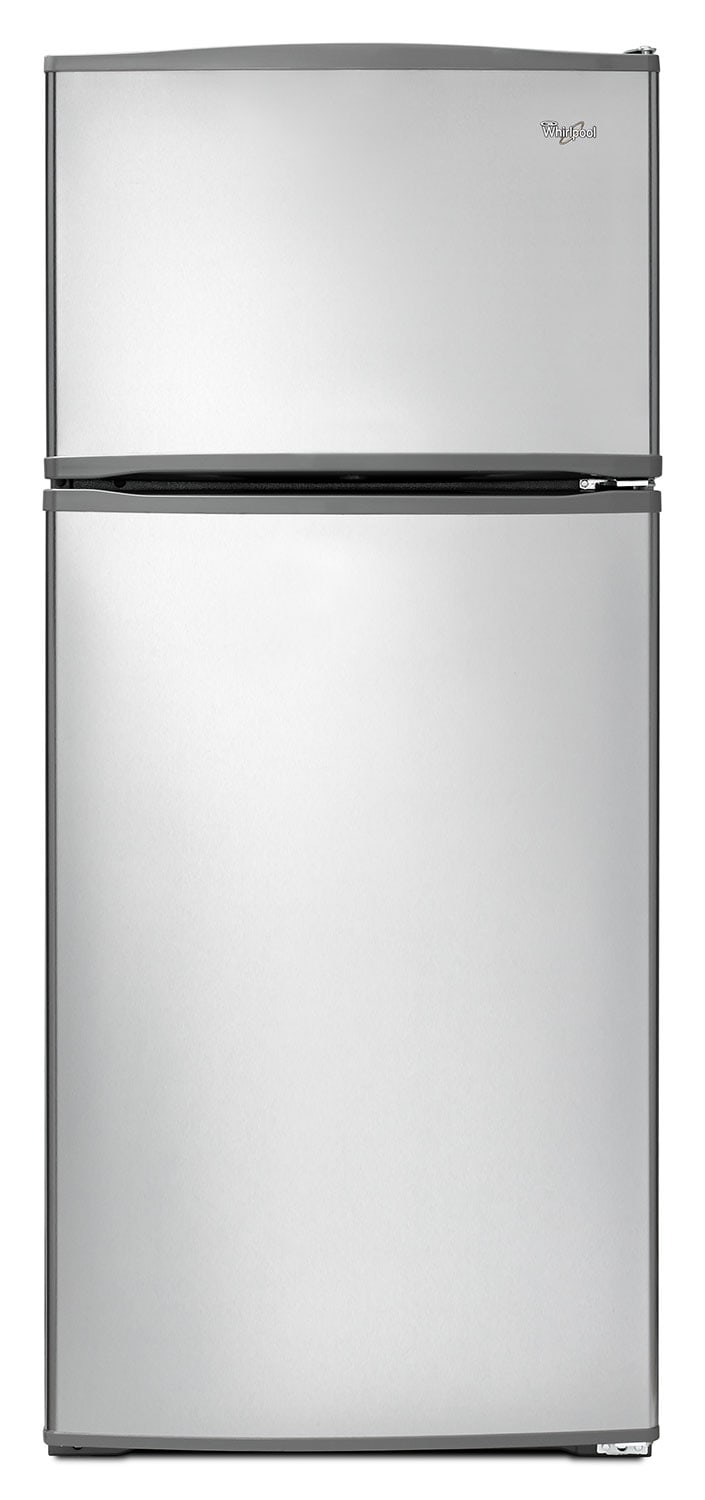 Refrigerators and Freezers - Whirlpool Stainless Steel Top-Freezer Refrigerator (16 Cu. Ft.) - WRT316SFDM