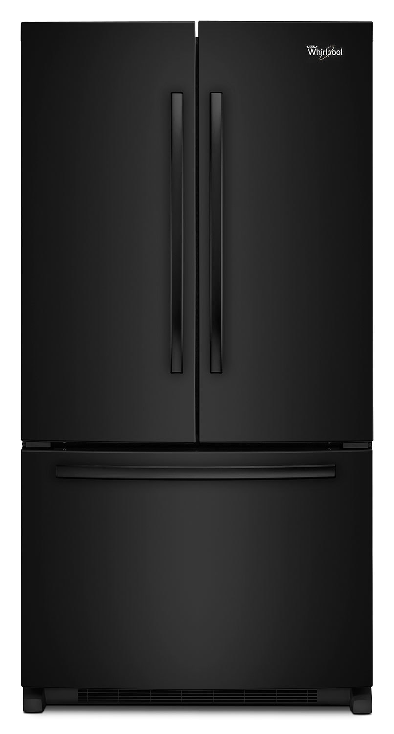 Refrigerators and Freezers - Whirlpool 25 Cu. Ft. French-Door Refrigerator with Interior Water Dispenser – WRF535SWBB