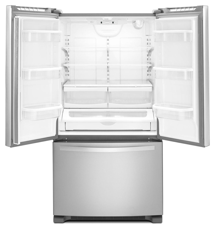 Whirlpool 25 Cu Ft French Door Refrigerator With Interior Water Dispenser Wrf535swbm