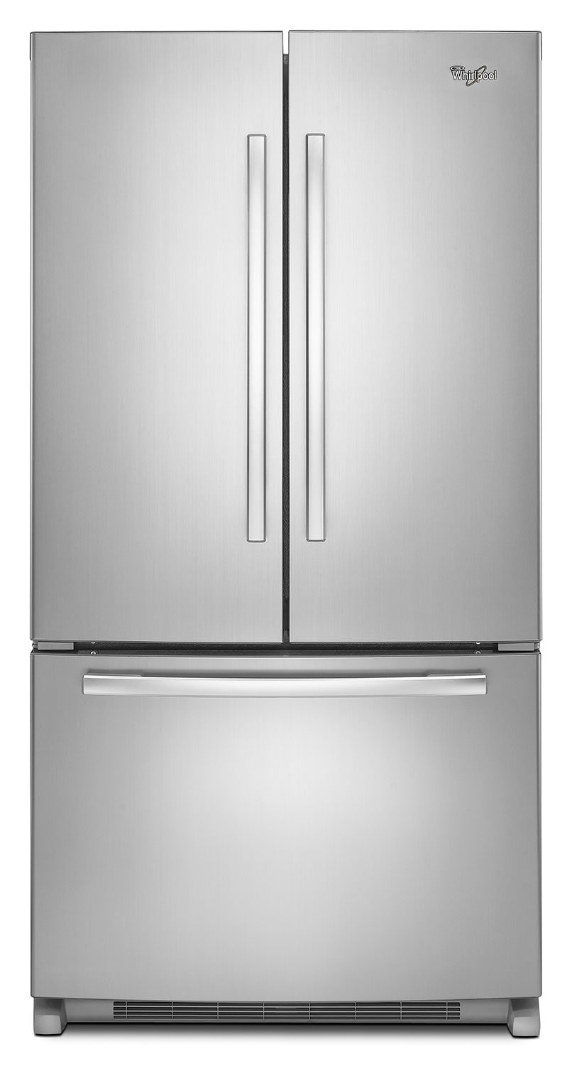 Refrigerators and Freezers - Whirlpool 25 Cu. Ft. French-Door Refrigerator with Interior Water Dispenser – WRF535SWBM