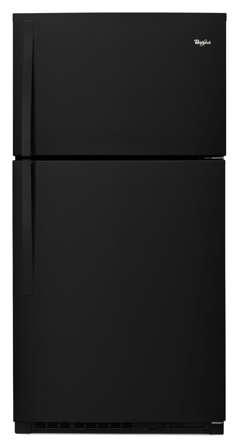 Refrigerators and Freezers - Whirlpool Black Top-Freezer Refrigerator (21.3 Cu. Ft.) - WRT541SZDB