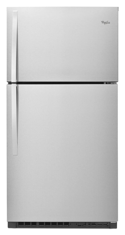 Whirlpool Stainless Steel Top-Freezer Refrigerator (21.3 Cu. Ft.) - WRT541SZDM
