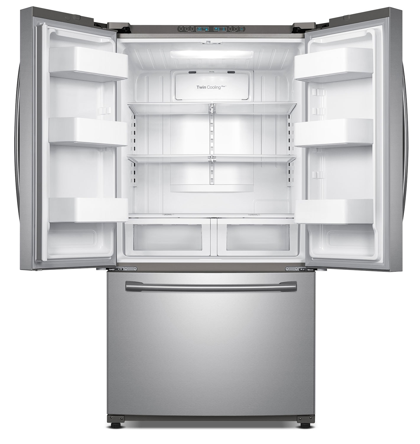 Samsung Stainless Steel French Door Refrigerator 25 5 Cu