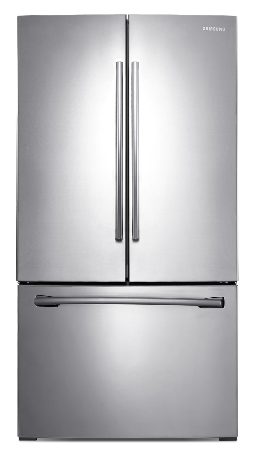 Refrigerators and Freezers - Samsung Stainless Steel French Door Refrigerator (25.5 Cu. Ft.) - RF26HFENDSR/AA