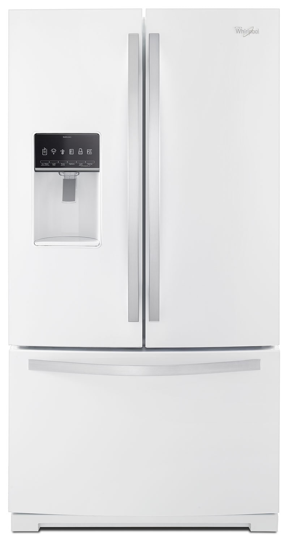 Whirlpool White French Door Refrigerator (26.8 Cu. Ft.) - WRF757SDEH